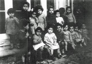 mixed-race children living in Holnicote House in Somerset