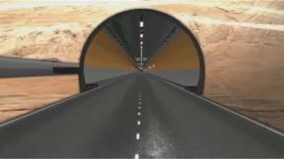 Projeto do Túnel de Água Negra