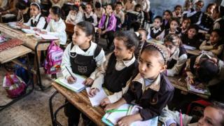 تلاميذ مصريون