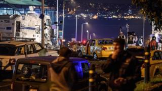 İstanbul'da bombalı saldırının düzenlendiği bölge