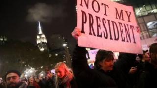 An yi zanga-zangar kyamar Trump