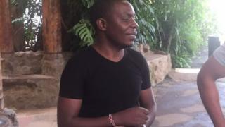 Samuel Abisai jackpot winner