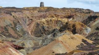 Parys Mountain mine
