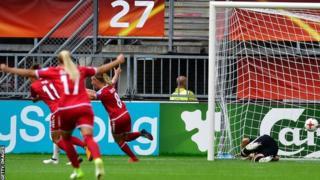 فريق الدنمارك لكرة القدم النسائية