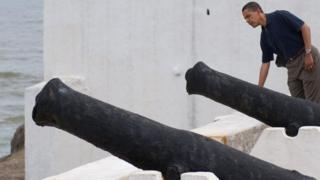 President Obama as e visit Ghana for 2009