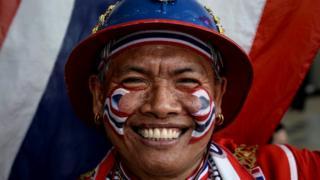 Тайский спортивный болельщик