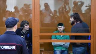 Обвиняемые по делу об убийстве Бориса Немцова