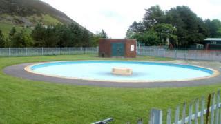 Maerdy paddling pool