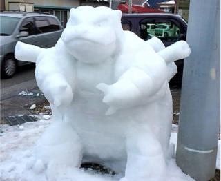 Instagram kullanıcısı kazu.sae'nin kardan eseri