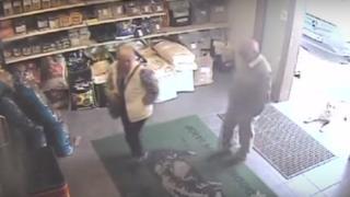 Sylvia and Peter Stuart on CCTV