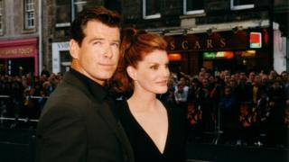 Pierce Brosnan and Rene Russo starred in the Thomas Crown Affair in 1999