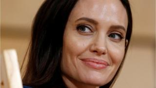 US Actor and UNHCR Special Envoy Angelina Jolie attends a conference at the United Nations in Geneva, Switzerland, 15 March 2017.