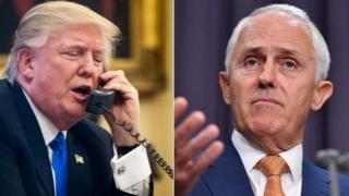 特朗普电话外交