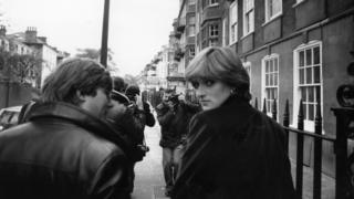 Lady Diana Spencer in 1980