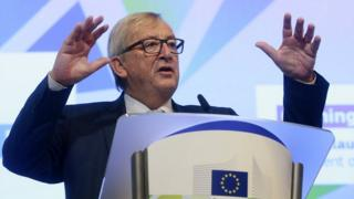 European Commission chief Jean-Claude Juncker, 8 Jan 18