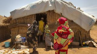 Cameroon refugees