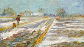 Van Gogh: Landscape With Snow