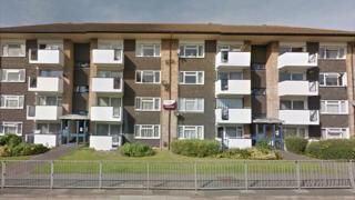 The block of flats