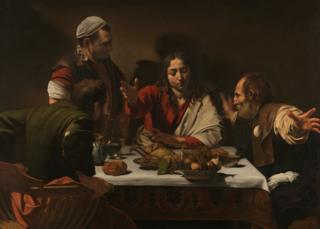 The Supper at Emmaus 1601 Michelangelo Merisi da Caravaggio.jpg