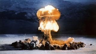 XX-10 Priscilla detonation in 1957