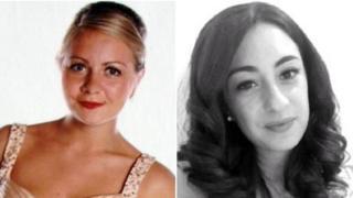 Charlotte Dove and Daniela Ruggiero