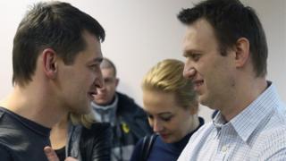 Олег и Алексей Навальный
