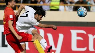 فوتبال ایران و چین