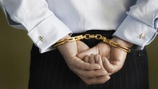 Executivo preso