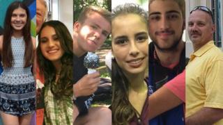 6 de las víctimas del tiroteo en Parkland