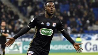 Lyon striker Maxwel Cornet