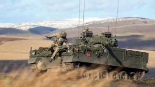 British solders were joined by French and Danish troops in a training exercise for Nato's Very High Readiness Joint Task Force in Northumberland