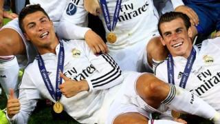 Cristiano Ronaldo a Gareth Bale