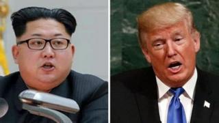 Rais Kim Jong Un na mwenzake wa Donald Trump