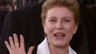 Actress Patty Duke arrives at 7th annual Screen Actors Guild Awards in Los Angeles. 11 March 2001