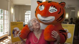 Judith Kerr and friend