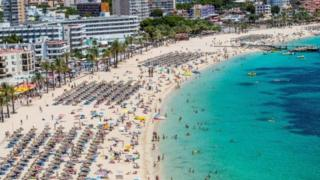 Party resort of Magaluf