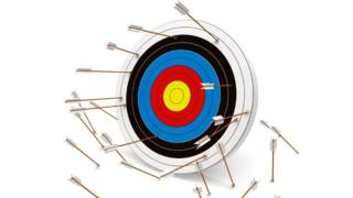 Arrows missing the target