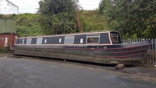 The barge