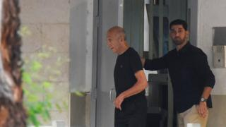 Olmert is released