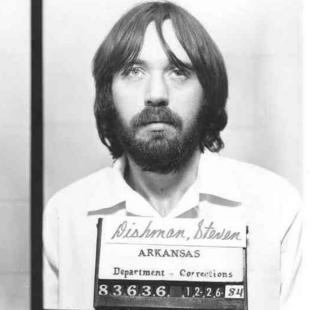 A picture of Steven Dishman, a prisoner who has been recaptured after over 30 years on the run