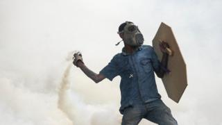 Pemrotes di Venezuela