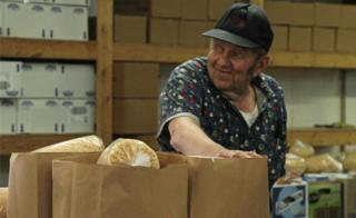 Local man in Jamestown's food bank