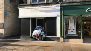 Empty Lush shop