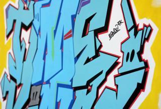 Crime Time Kings - graffiti by Bando