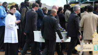 Çocukların cenazesi