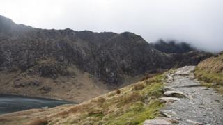 The Pyg Track, Mt Snowdon