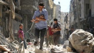Pertempuran di Suriah