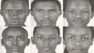 Les photos des six jeunes membres de l'équipe burundaise de robotique publiées par la police américaine