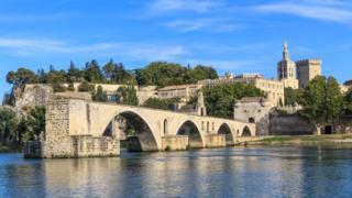 Avignon and its famous bridge