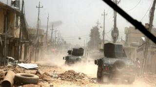 ONU ivuga ko abanyagihugu b'i Mosul bakoreshwa nk'inkinzo za I-S